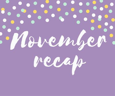 october-recap